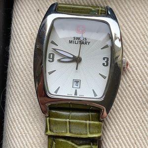 Swiss military watch gift set